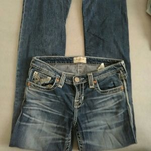 Big Star Liv Boot Cut Medium Wash Jeans 28R
